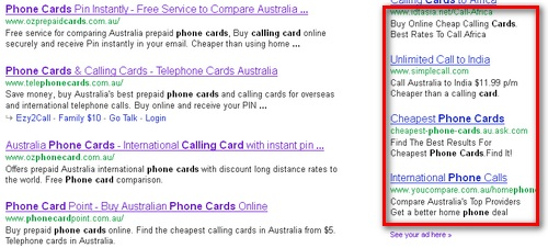 Promote your site - Phone Card Point - Buy Australian Phone
